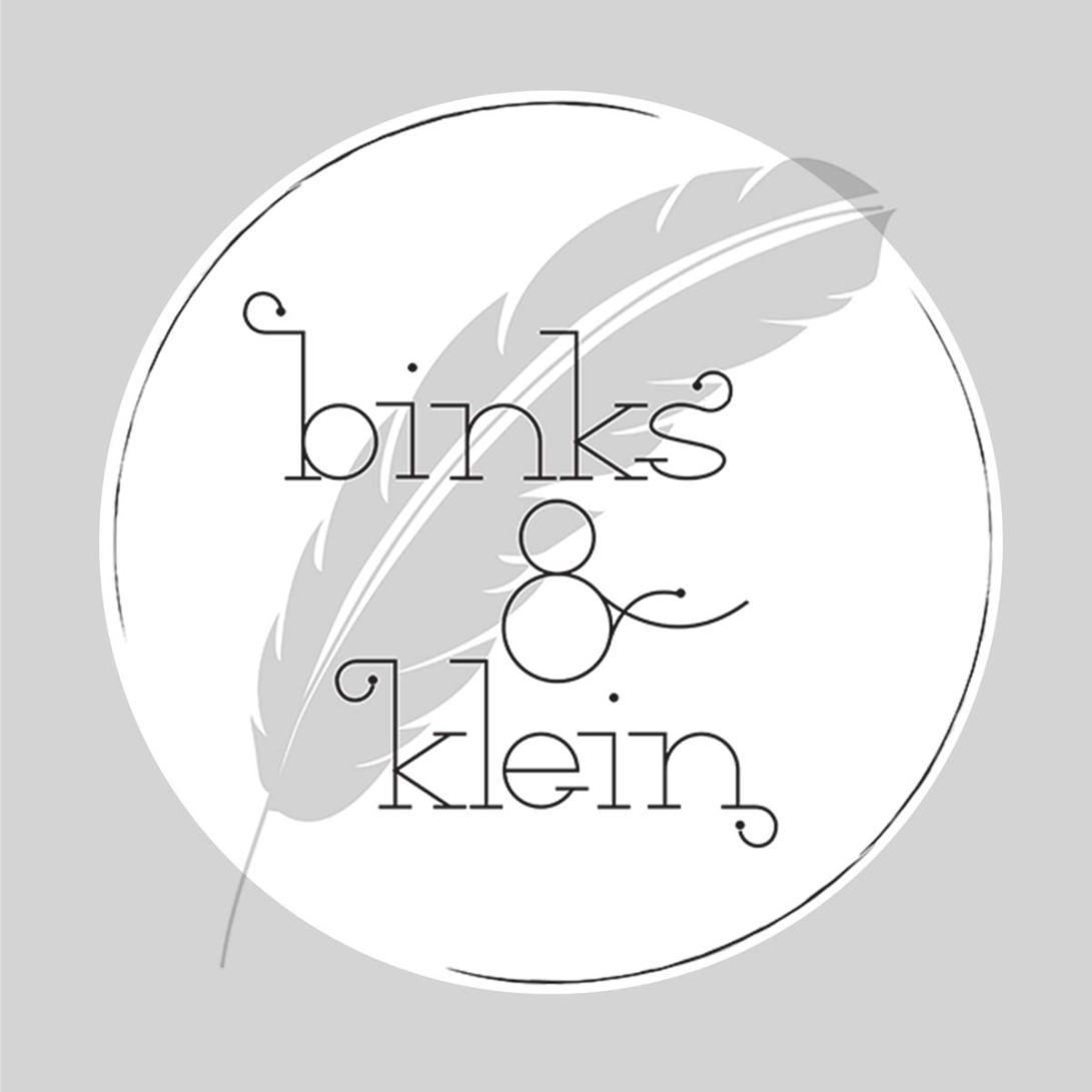 Logo designed for Binks & Klein.