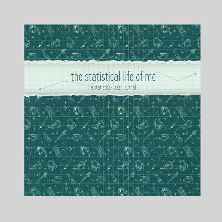Cover of the Statistical Life Of Me self-help journal, for Emily Godillon.